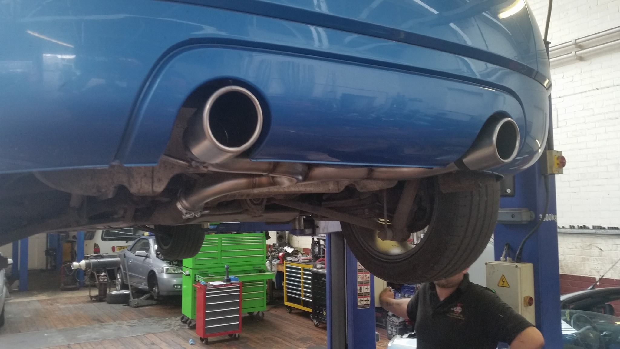 audi tt custom exhaust and remapping in norwich norfolk
